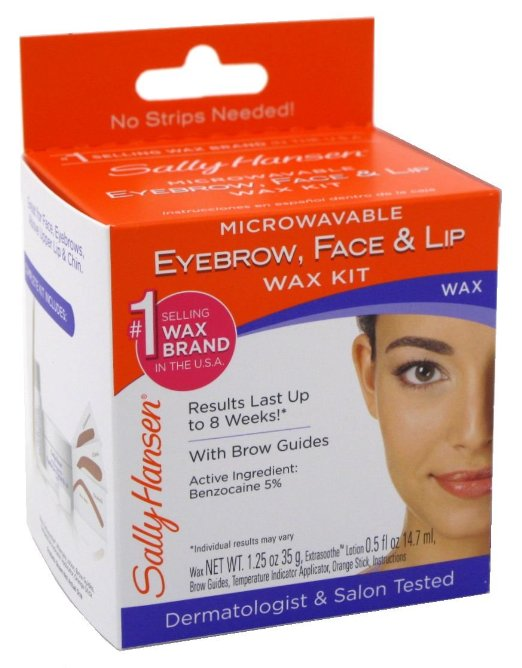 Sally Hansen Eyebrow, Face and Lip Wax