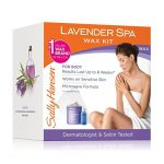 Sally Hansen Lavender Spa Wax Hair Removal Kit
