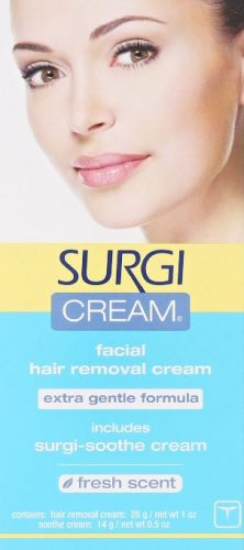 Surgi-cream Hair Remover Extra Gentle Formula for Face